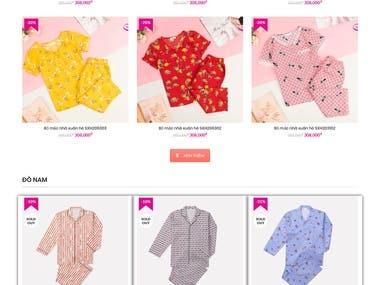 Clothing store - ssecret.com.vn