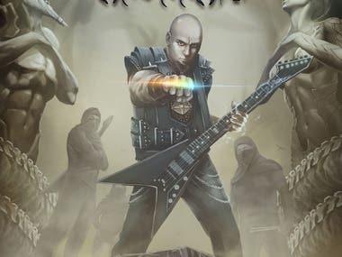 Emissary of the Anunnaki - My dark fantasy graphic novel