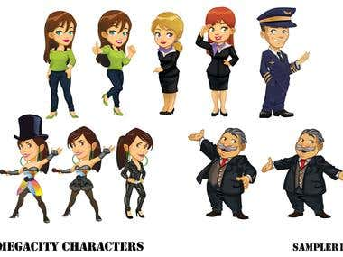 Project megacity characters