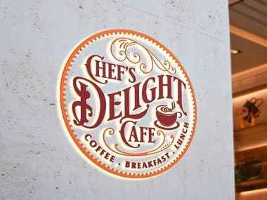 Chef's Delight Cafe Logo