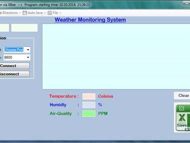 Weather Monitor System