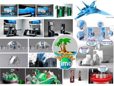 3D designer, grafic designer, art-director