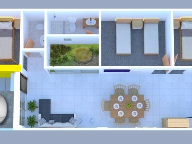 Proyecto Casa de 1 Nivel