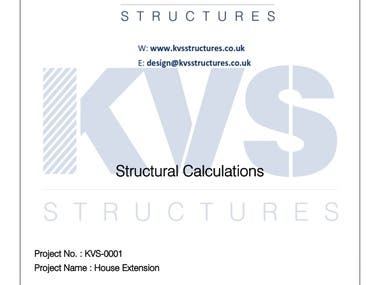 Sample Calculation Report