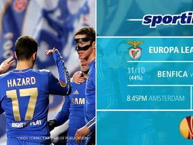 Sportingbet Facebook Cover