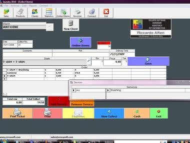 laundry 3-4-5 Multilanguage Management Software