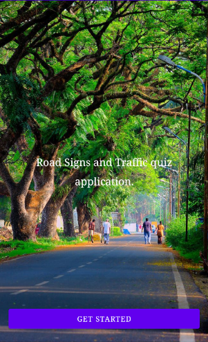 Road Signs and Meaning