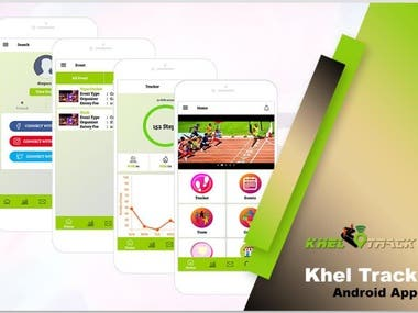 KhelTrack - Sport Application like Addidas