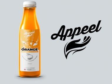 Juice Logo and Label Design