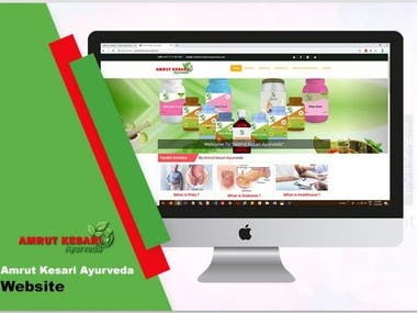 Ayurveda Website E-commerce Product Selling Website