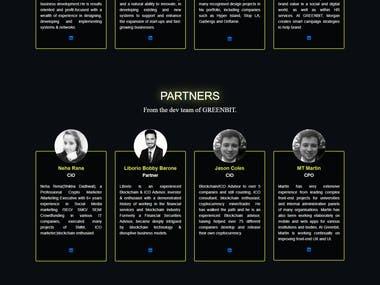 Greenbit.in-ICO Development