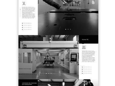 Web design / Carbon Fiber Chassis
