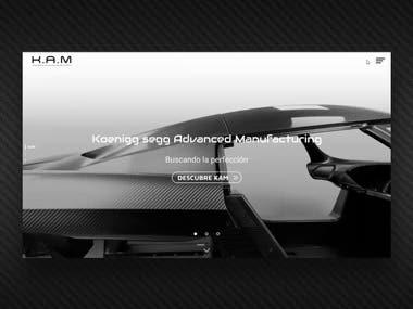 UI motion / Carbon fiber chassis