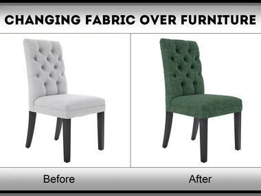 Fabric Changing Over Furniture Images