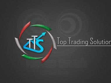 Logo Design For Top Trading Solution