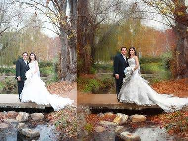 wedding art retouching