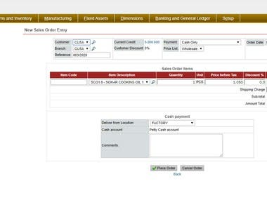 Accounting ERP