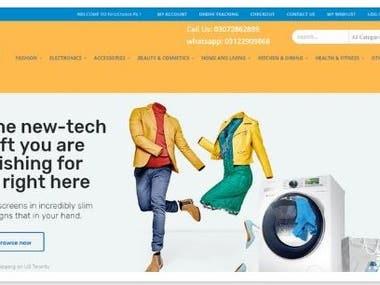 FirstChoice.Pk (E-commerce) site