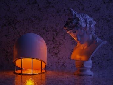 Minimal Table Lamp