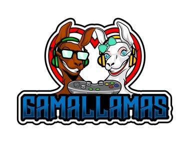 Gama Llama Gaming Logo
