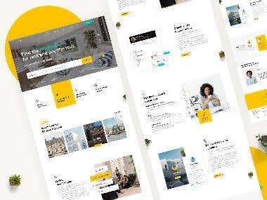 Property Finder website design (UXI)