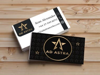 design business/visiting card