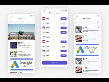 Covid 19 News App