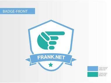 Frank.net Shirt Badge