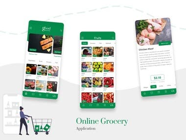 Grocery Online shop