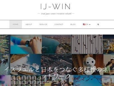 WordPress improving site - www.ij-win.com