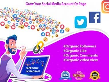 Grow your Social Media account