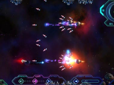 SpaceShip Game (Unity3D)