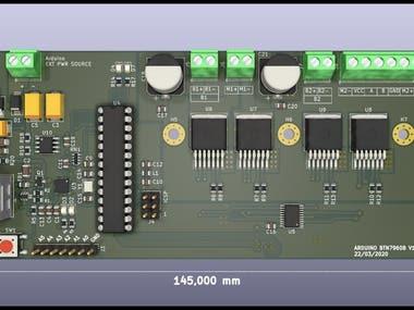 Arduino Dual DC Motor Controller