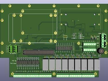 IOT Smart Relay Base Board