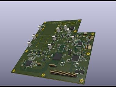 Design of Video Format Converter Board