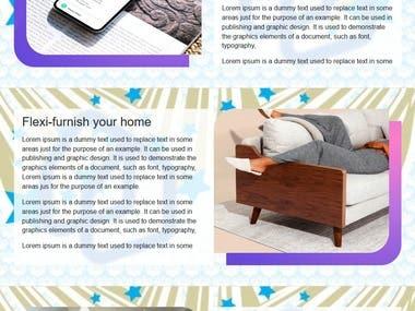 Property Rent website design