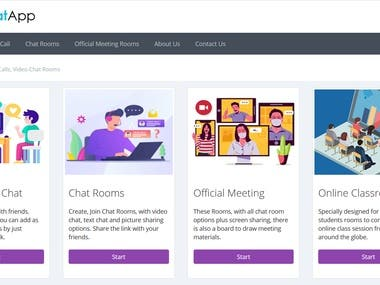 VChatApp Video Calls, Official Meetings, Chat Rooms