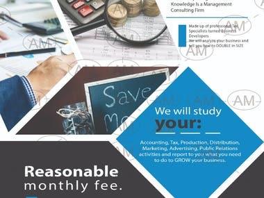 Flyer/Brochure design/Banner design