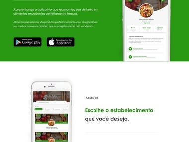 Food Recycle Website Design Develop