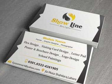Show Line_Business Card_