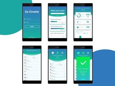 Ez_Onsite Event app