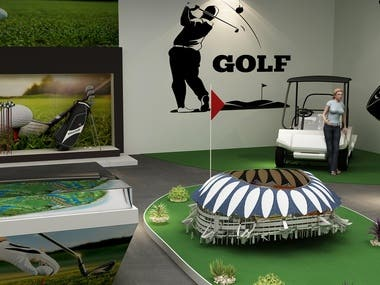 Golf Game Showroom