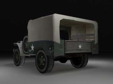Dodge WC-53 military vehicle