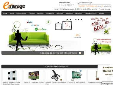 Webdesign 3: OpenCart eCommerce Custom Design