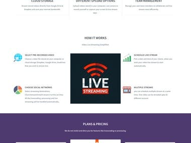 Simulate Live streaming server
