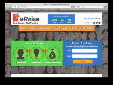 Web Site eRaise