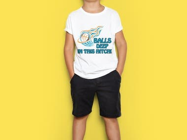 Balls T-shirt Design