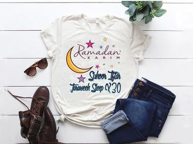 Ramadan Spacial T-shirt Design