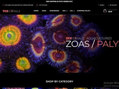 Shopiy Website With Custom Functionality