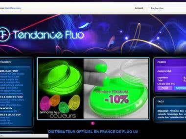 Tendance Fluo